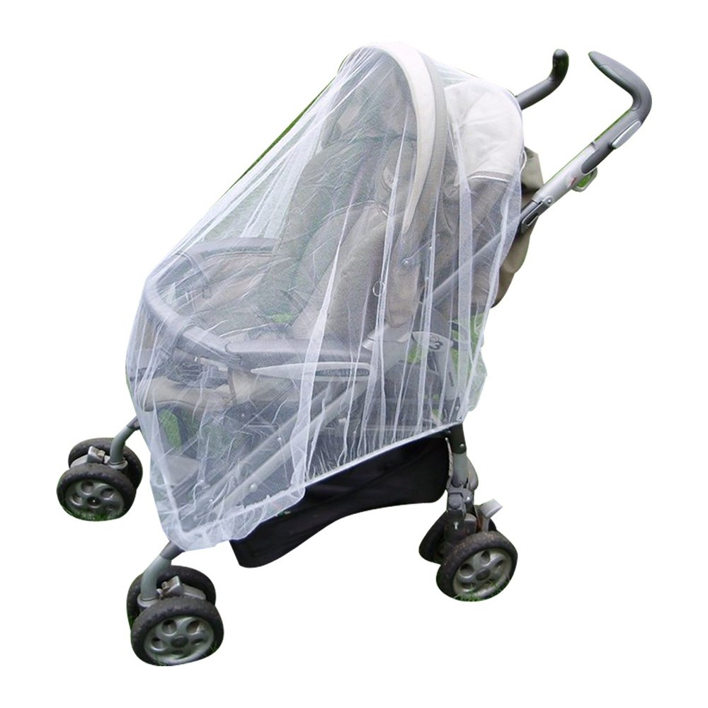 Infant Toddler Mosquito Net for Buggies, Pushchairs, Playpens & Carriers. FREE Net Travel Bag