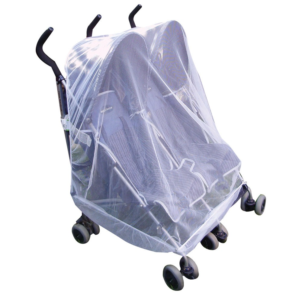Twin or Tandem Buggy Mosquito Net FREE Net Travel Bag
