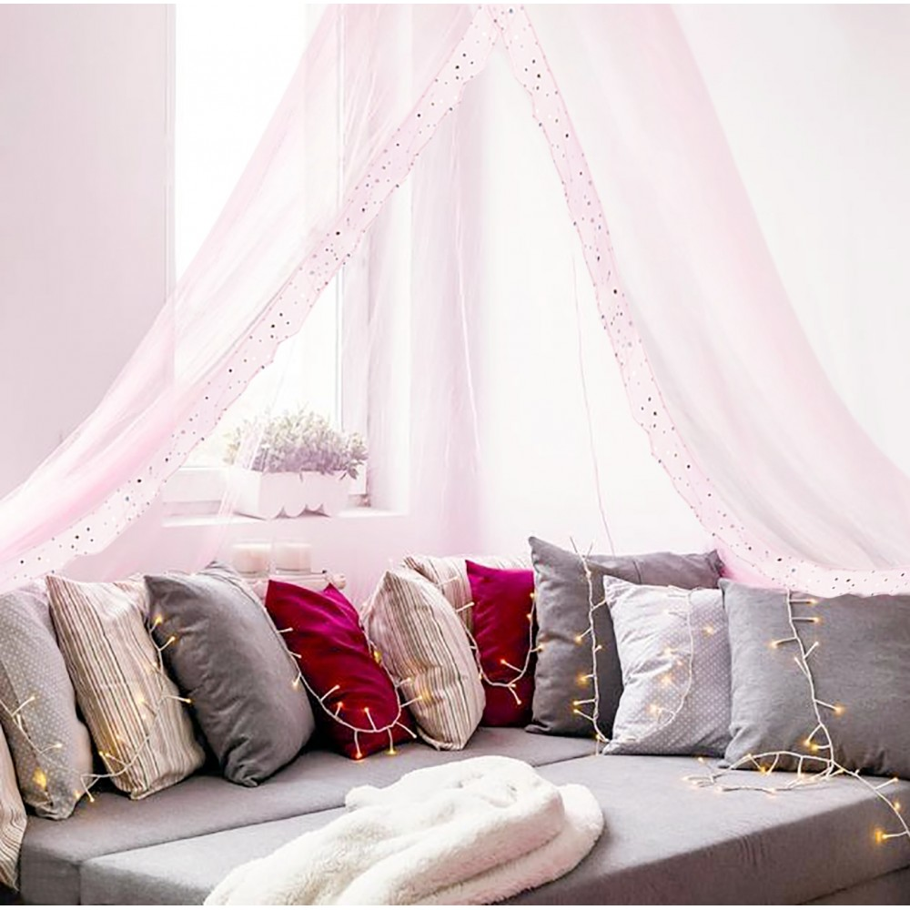 Canopy for Girls Bed - Quick and Easy To Hang Bedroom ...